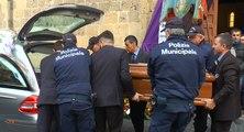 Aversa (CE) - Il funerale di Rino Freda, il vigile che si è tolto la vita (17.02.16)