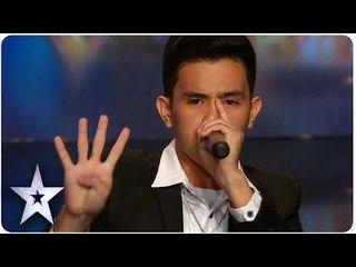 Human Beatbox Neil Amazes Everyone   Asia's Got Talent Episode 4