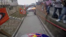 Descente impressionnante en VTT - Caméra embarquée sur le Urban MTB Downhill