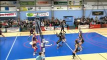 Sport. Volley-ball féminin : QV29 vs VCMB (3-0)