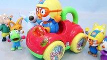 뽀롱뽀롱 뽀로로 오르골 자동차 장난감 차 Pororo music Cars Toys мультфильмы про машинки Игрушки