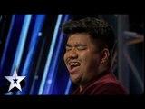Toshanbor's Big Voice Brings Goosebumps | Asia's Got Talent 2015 Episode 1