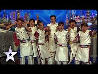 Tatueng Mong Serves Beats While Cooking | Asia's Got Talent 2015 Episode 1