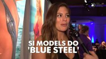 Sports Illustrated Models Show Off Their 'Blue Steel'