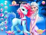 Disney Frozen Games - Elsa Pony Caring – Best Disney Princess Games For Girls And Kids
