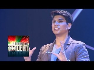 Ye Thu Aung Magician Myanmar's Got Talent 2015 Final | Season 1