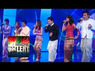 Hangover Myanmar's Got Talent 2015 Final | Season 1