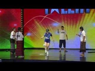 Impersonator & Chinlone Keepy Uppy Act | Myanmar Got Talent | Episode 1 Part 4/6