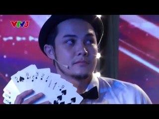 Vietnam's Got Talent 2016 - TẬP 01 - Ảo Thuật hài - Duy Anh, Việt Anh