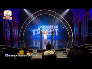 CGT - Live Show 1 - Week 6 - ឈន សុវណ្ណារ៉ា, អេង សុវណ្ណតារា & សាត ឧត្តម - 02 Jan 2015