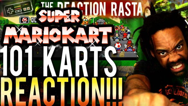 Super Mario Kart with 101 players REACTION!!! - THIS IS INCREDIBLE!!!