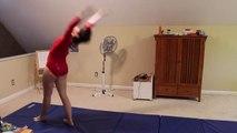 Blindfold Gymnastics Challenge!