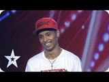 Amazing Moves Breakdance Dance from Vino Alberto Papilaya - AUDITION 7 - Indonesia's Got Talent [HD]