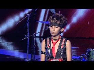 Cool Drummer Kid from Rachzonja Adhy Kirana Putra - AUDITION 7 - Indonesia's Got Talent [HD]