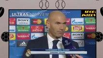 Roma 0-2 Real Madrid - Zinedine Zidane - Post Match Interview