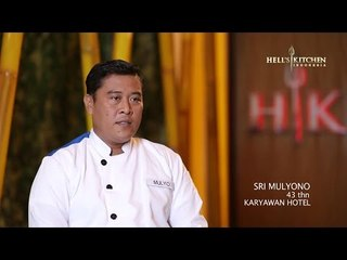 MULYO - Contestant Profile - Hell's Kitchen Indonesia