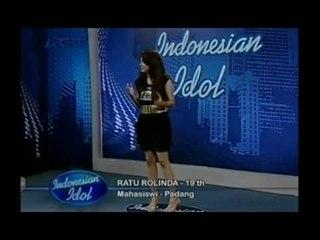 Anang : Enakan Kamu yang Nyanyi dari Syahrini - Audisi 3 - INDONESIAN IDOL 2012