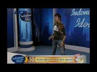 Ah Mas Dhani, Pukul Manja Loh - Audisi 3 - INDONESIAN IDOL 2012