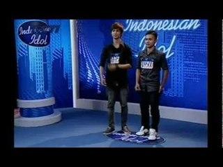 Rio dan Dimas, Duo Bieber - Audisi 2 - INDONESIAN IDOL 2012