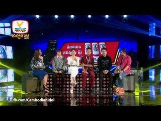 CambodianIdol Talkshow EP 7 Part 4