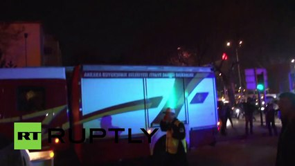 Turkey- Deadly blast hits central Ankara
