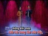 Karaoke  Liên khúc Mưa nửa đêm & Mưa đêm ngoại ô - Tuấn Vũ & Mỹ Huyền
