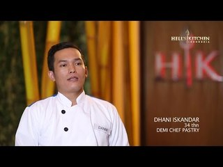 DANNY - Contestant Profile - Hell's Kitchen Indonesia