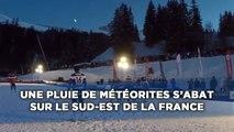 Une pluie de météorites s'abat sur le Sud-Est de la France