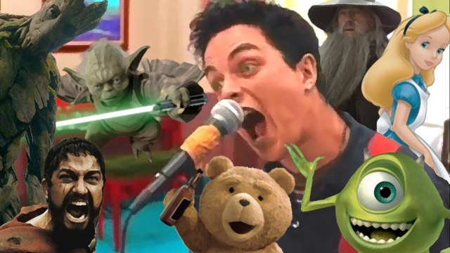 "Green Day:  ""Basket Case"" par Yoda, Harry Potter, Chucky, Arnold, Tom Cruise and more"