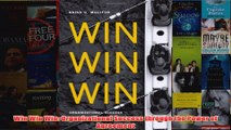 Download PDF  Win Win Win Organizational Success through the Power of Agreement FULL FREE