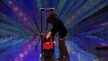 Magician Hairy Baldini - Britains' Got Talent audition 2012 - International version