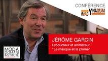 """Conférences ImagYnarium : Jérôme Garcin - Producteur et animateur """"Le Masque et la Plume"""""""