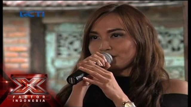 DITTA KRISTY - HEART SHAPED BOX (Nirvana) - Judges Home Visit 1 - X Factor Indonesia 2015