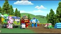 Мультфильмы для детей про машинки и игрушки Робокар Поли, Спасти Хэлли, Робокар Поли и Маш