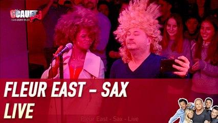 Fleur East - Sax - Live - CCauet sur NRJ