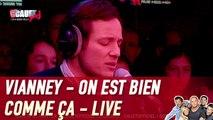 Vianney - On est bien comme ça - Live - C'Cauet sur NRJ
