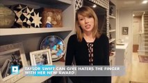 Taylor Swift can give haters the finger with her new award