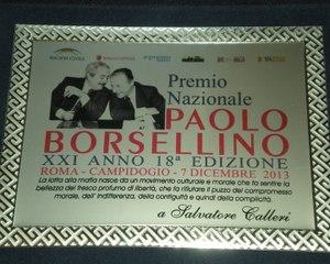 367 - Premio Borsellino 2013 - 3 - Salvatore Calleri