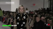 MICHAEL KORS Highlights Fall 2016 New York Fashion Week by Fashion Channel