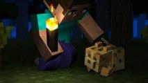 Herobrines Cat 2 - Herobrine Animation, Minecraft