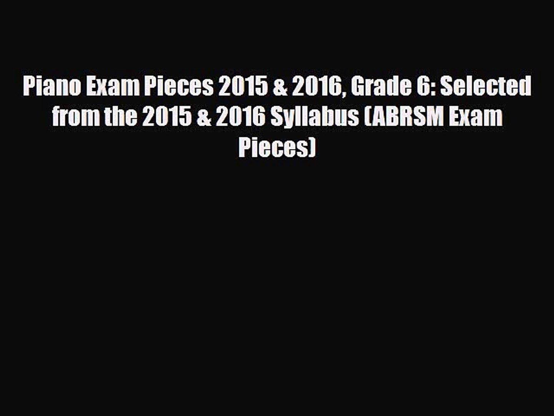 ABRSM Exam Pieces 2014-2017 Grade 5 Clarinet Part Clarinet Sheet Music Part