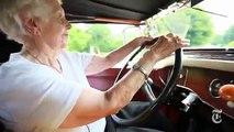 A Historia incrivel de uma mulher com 102 anos que conduzia um carro com 82!