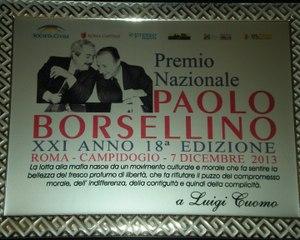 368 - Premio Borsellino 2013 - 4 - Luigi Cuomo