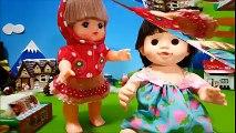 メルちゃん おもちゃアニメ ぽぽちゃんお世話ごっこ❤アンパンマンおもちゃアニメ❤おかあさんといっしょ♦ アニメきっず animation Anpanman Toy
