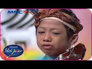 FARIZAL - IBU (Sakha) - Audition 2 - Indonesian Idol Junior