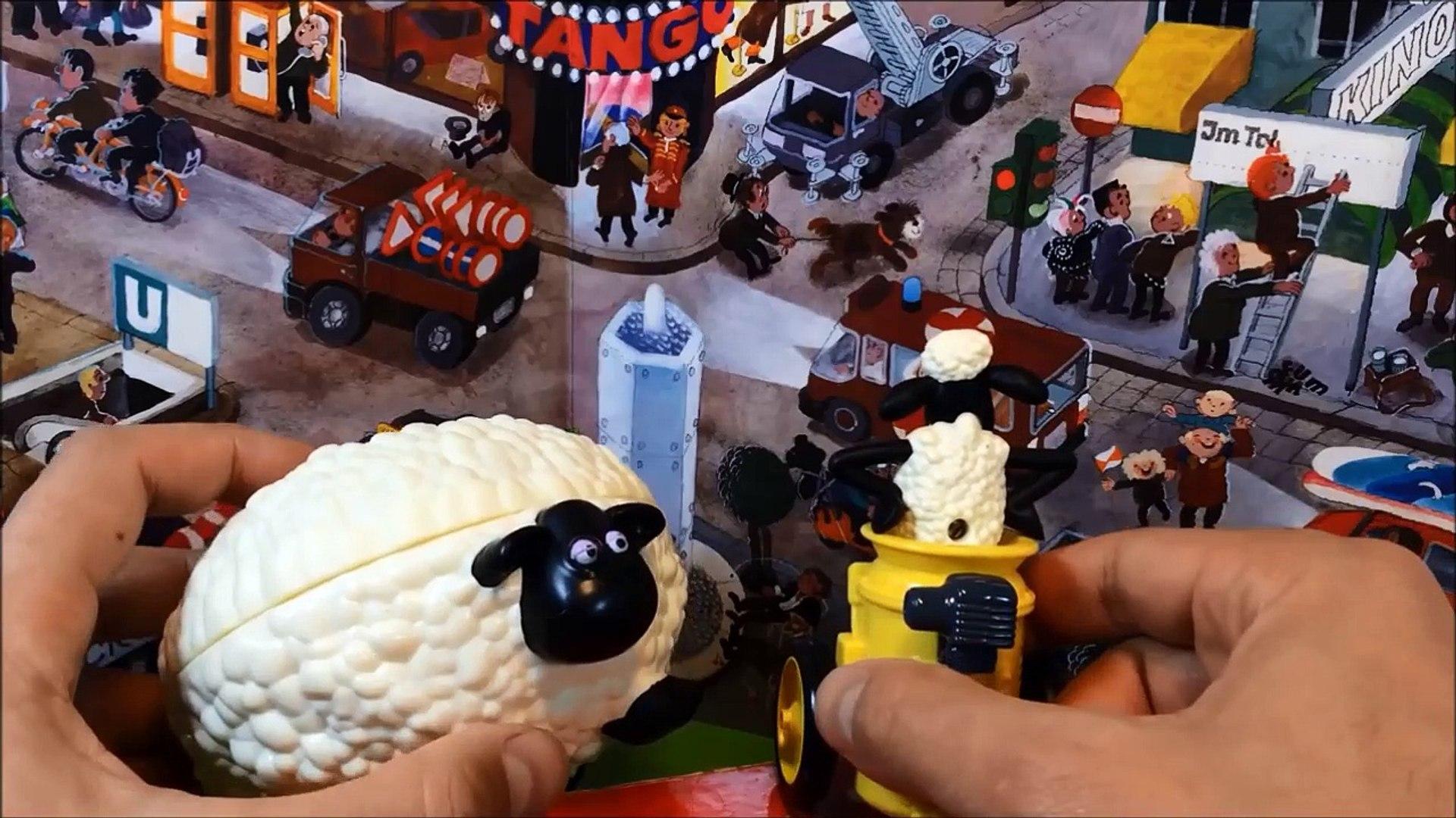 Shaun le mouton Shaun the Sheep 8 stories | McDonalds toys | Timmy Time | CBeebies | Shaun le mouton