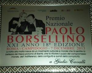 371 - Premio Borsellino 2013 - 7 - Cavalli Giulio