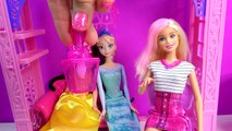 Barbie Color Change Hair & Nails Glitz Glam Queen Elsa Disney Frozen Ice Water Changer Dol