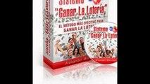 Sistema Ganar La Lotería. Único En Español