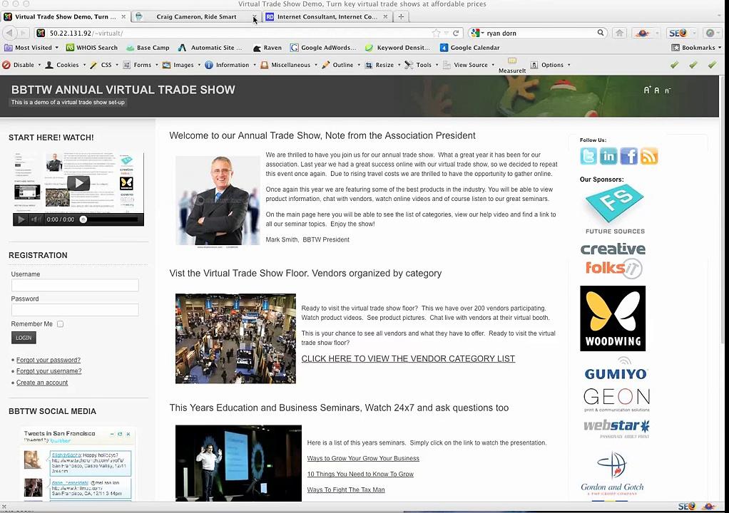 Virtual Trade Show Demo – Trade Show Media Partners